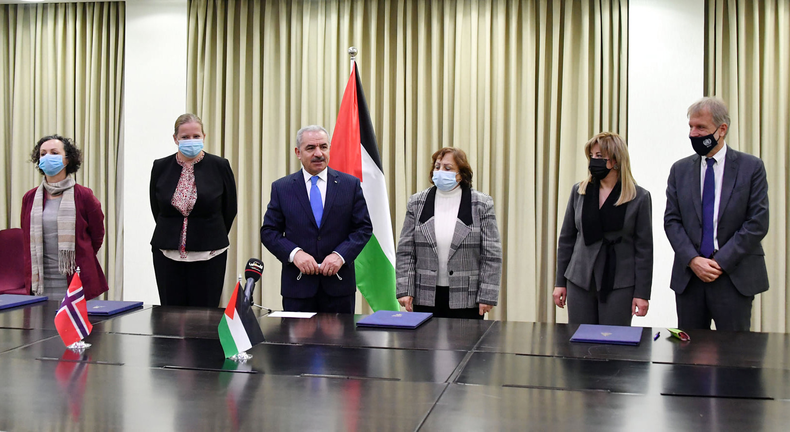 WHO and the governments of Palestine and Norway Agreement